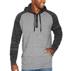 The Foundry Big & Tall Supply Co. Long Sleeve Jersey Hoodie-Big and Tall