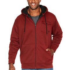 Zoo York Midweight Hooded Fleece Jacket - Big and Tall