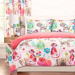 Crayola Purrty Cat Comforter Set