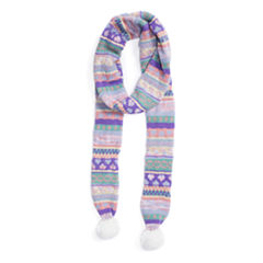 Muk Luks True Love Skinny Oblong Knit Cold Weather Scarf
