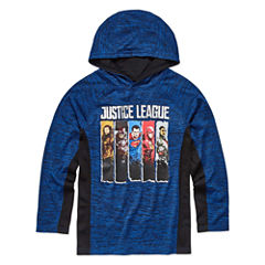 Justice League Hoodie-Big Kid Boys