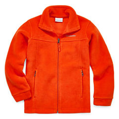 Columbia Orange Fleece- Boys Big Kid
