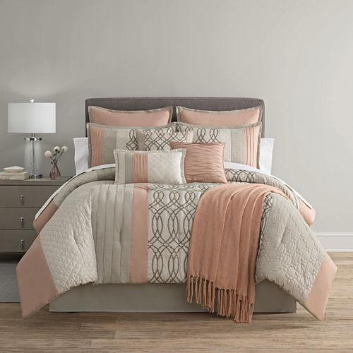 Home Expressions Nina 10-pc. Comforter Set