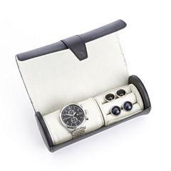 Luxurious Genuine Leather Watch Box