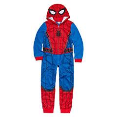 Spiderman One Piece Pajama- Boys