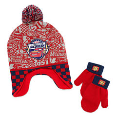 2-pc. Cars Hat & Glove Set-Toddler Boys