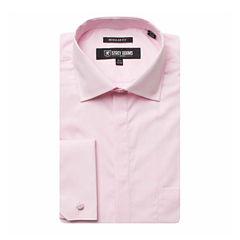 Stacy Adams Long Sleeve Woven Dress Shirt