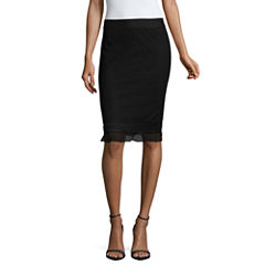 Liz Claiborne Lace Flared Skirt