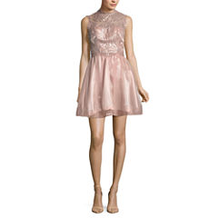My Michelle Sleeveless Party Dress-Juniors