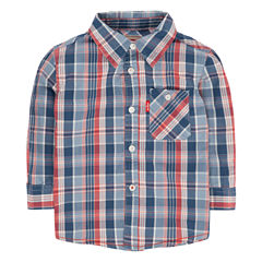 Levi's Long Sleeve Button-Front Shirt Boys