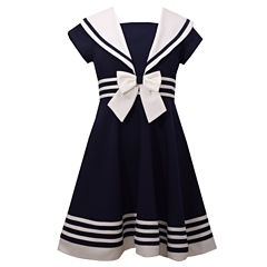Bonnie Jean® Sailor Dress - Girls 7-16 and Plus