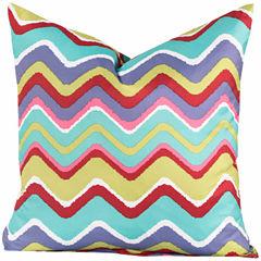 Crayola Mixed Palatte Throw Pillow