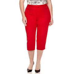 Liz Claiborne® Emma Ankle Pants - Plus