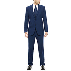 JF J. Ferrar® Blue Stretch Suit - Classic Fit