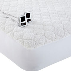 Biddeford™ Sherpa Heated Mattress Pad