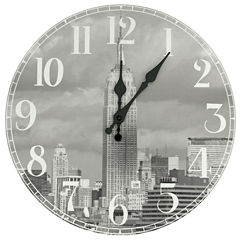 Oriental Furniture Empire State Building Wall Clock