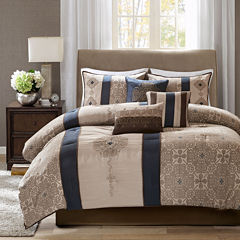 Madison Park Blaine 7-pc. Jacquard Comforter Set