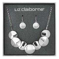 Liz Claiborne Womens 2 Pair Jewelry Set