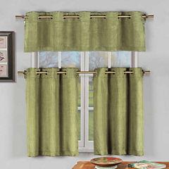 Duck River Agnes 3-pc. Kitchen Curtain Set