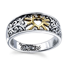 Footnotes Footnotes Womens Sterling Silver Band