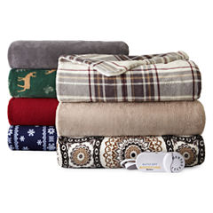 Biddeford™ Plush Electric Throw
