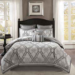Madison Park Kelsey 9-pc. Jacquard Comforter Set
