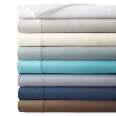 studio 550tc ultrafit solid performance sheet set - Cal King Sheets