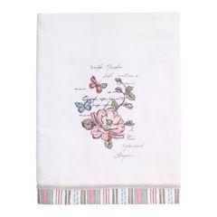 Avanti Butterfly Garden Bath Towel