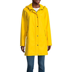 Seb Hooded Water Resistant Raincoat