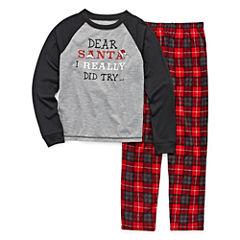 #FAMJAMS Dear Santa Family Pajama Set- Boys 4-20