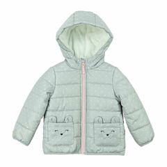 Carter's Midweight Dots Puffer Jacket - Girls-Toddler