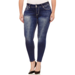 Juniors Plus Size Embellished Jeans for Women - JCPenney