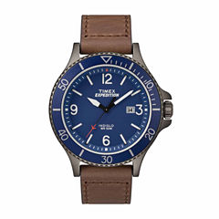 Timex Expedition Ranger Mens Brown Strap Watch-Tw4b107009j