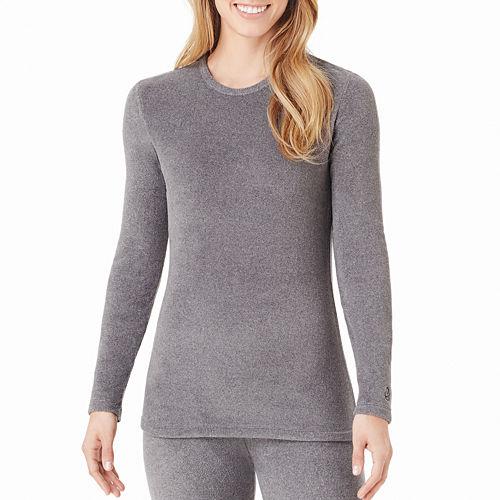 Cuddl Duds® Fleecewear Long-Sleeve Crewneck Shirt - Tall