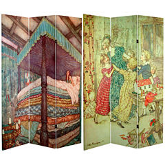 Oriental Furniture 6' Princess Fairy Room Divider
