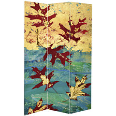 Oriental Furniture 7' Autumn Leaves Room Divider
