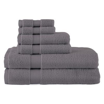 royal velvet signature soft 6pc towel set