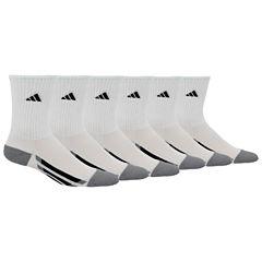 Adidas 6Pk Crew Socks Boys
