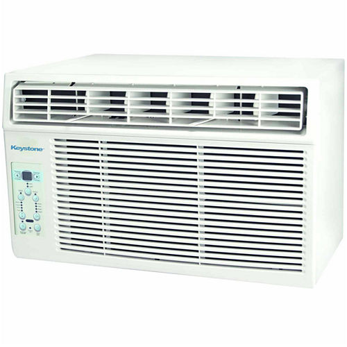 Keystone Energy Star 5000 BTU Window-Mounted Air Conditioner with Follow Me LCD Remote Control