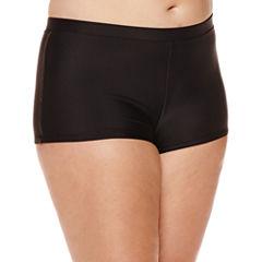 Arizona Black Swim Shorts - Juniors Plus