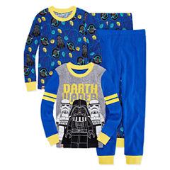 Star Wars 4 PC Pajama Set - Boys