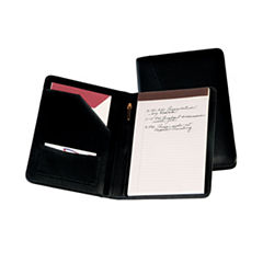 Royce Leather Compact Leather With Writing Pad Padfolio