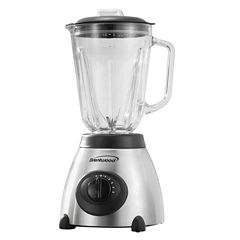 Brentwood 5-Speed Blender with Stainless Steel Base and Glass Jar 500w
