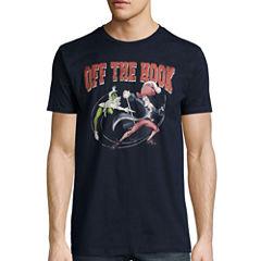 Disney Collection Short-Sleeve Peter Pan vs. Captain Hook Tee