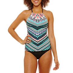 a.n.a Chevron Tankini Swimsuit Top or Hipster Bottom
