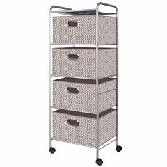 4-Drawer Trolley Cart