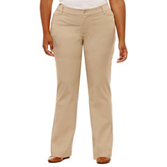 St. John's Bay® Bi-Stretch Pants-Plus (32