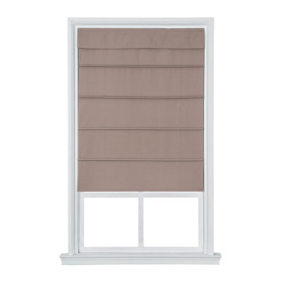 jcpenney home cordless cotton classic roman shade