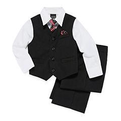 Striped Vest 4-pc.. Set - Toddler Boys 2t-5t