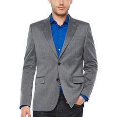 JF J.Ferrar Pin Dot Slim Fit Suit Jacket